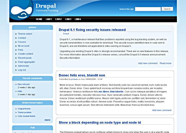 Theme project Drupalorg