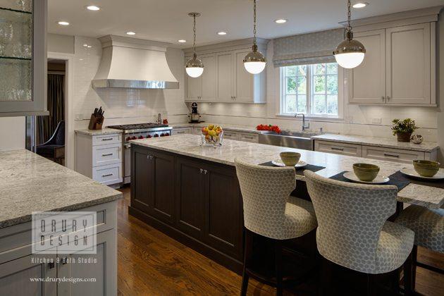 Elements of Transitional Kitchen Design - Drury Design - transitional kitchen design