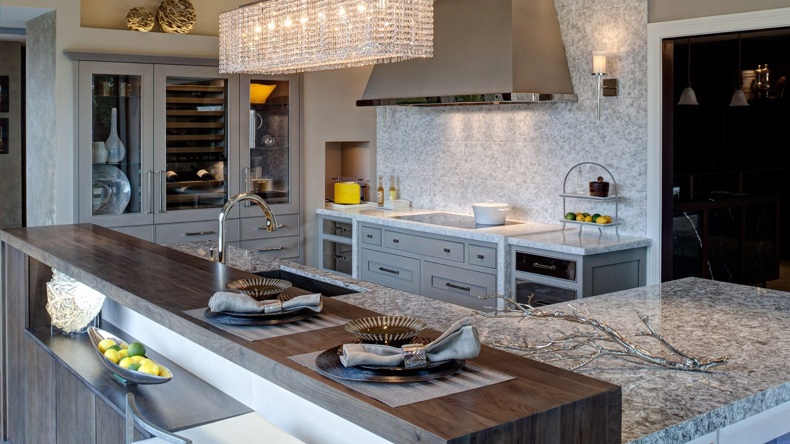design showroom kitchen and bath design Airy Modern Kitchen Design drury