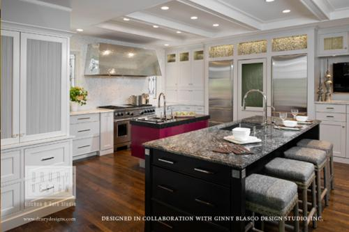 Artistic Transitional Kitchen Design Becomes a Northshore Beauty - transitional kitchen design