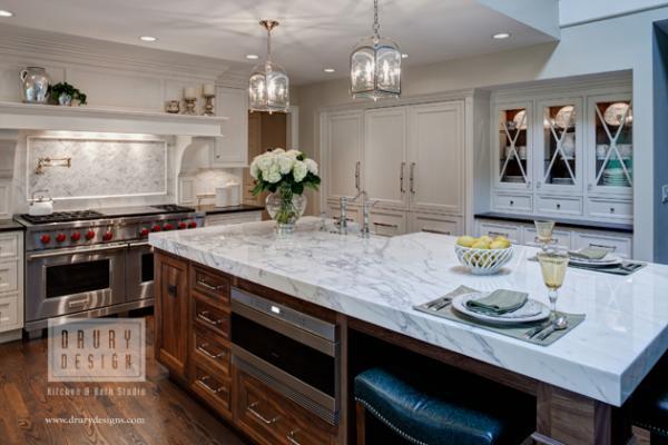 Timeless Burr Ridge IL Kitchen Makeover - Drury Design - timeless kitchen design