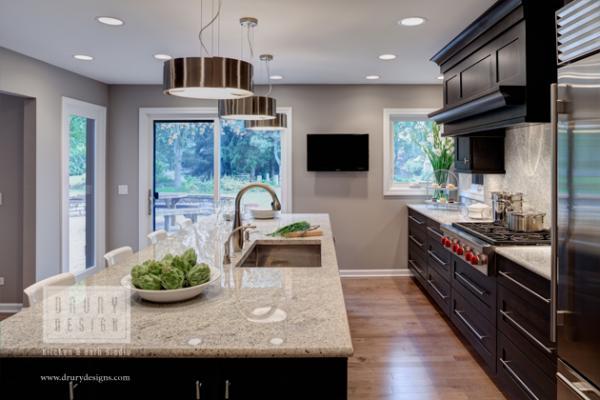 Naperville Transitional Kitchen Remodel Designed to Shine - Drury - transitional kitchen design