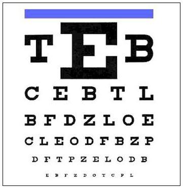 Do-It-Yourself Vision Test - Willa Hisle, OD