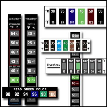 DryPak Industries - Reversible Temperature Indicating Labels