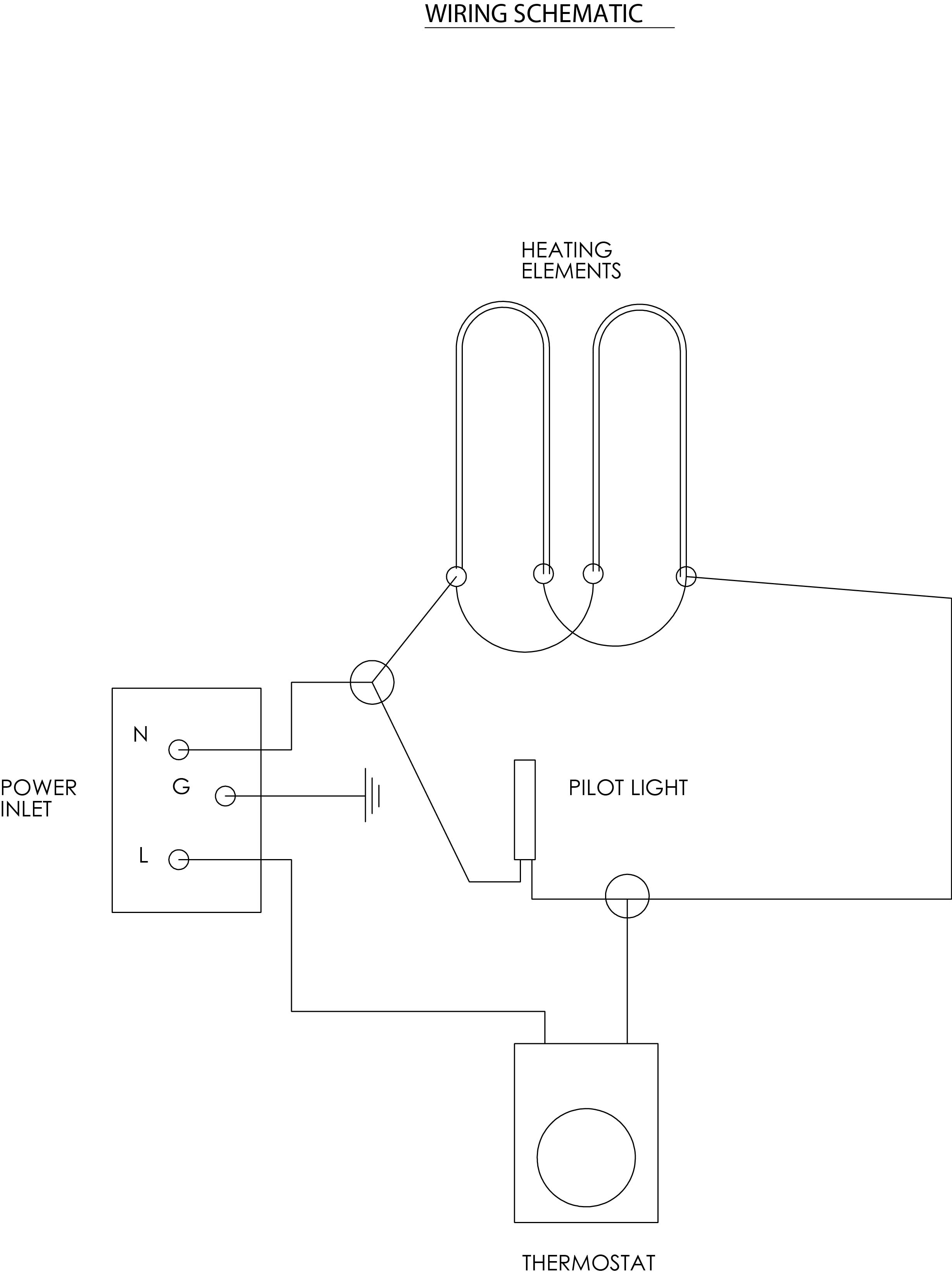 oven element wiring diagram