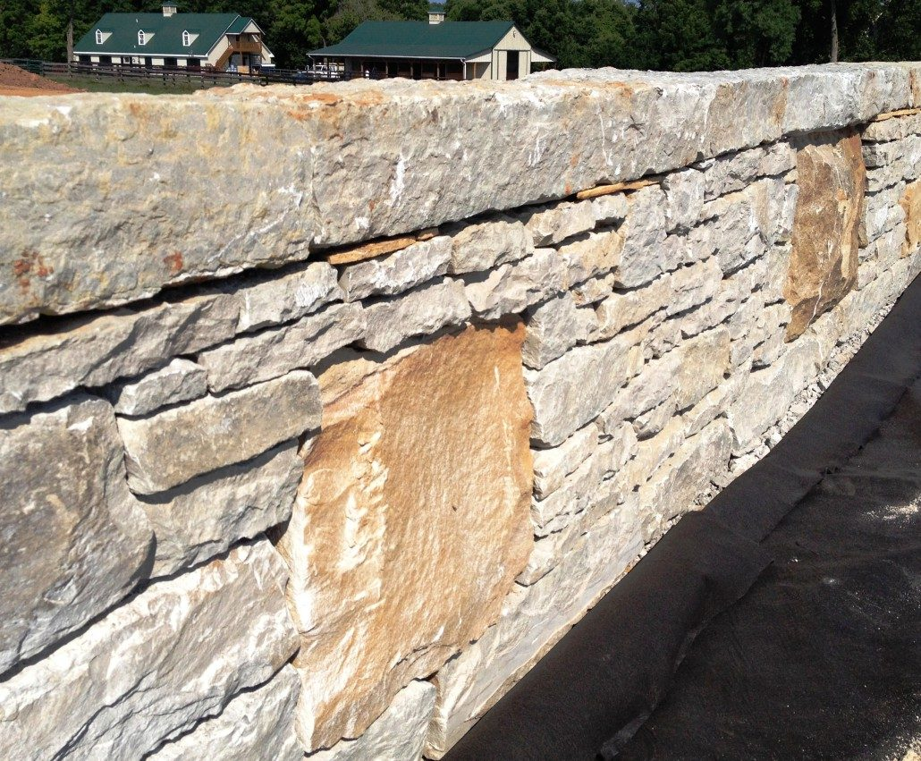 Stone Wall Building Techniques Retaining Walls