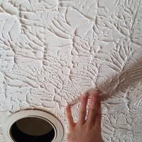 Matching a textured ceiling