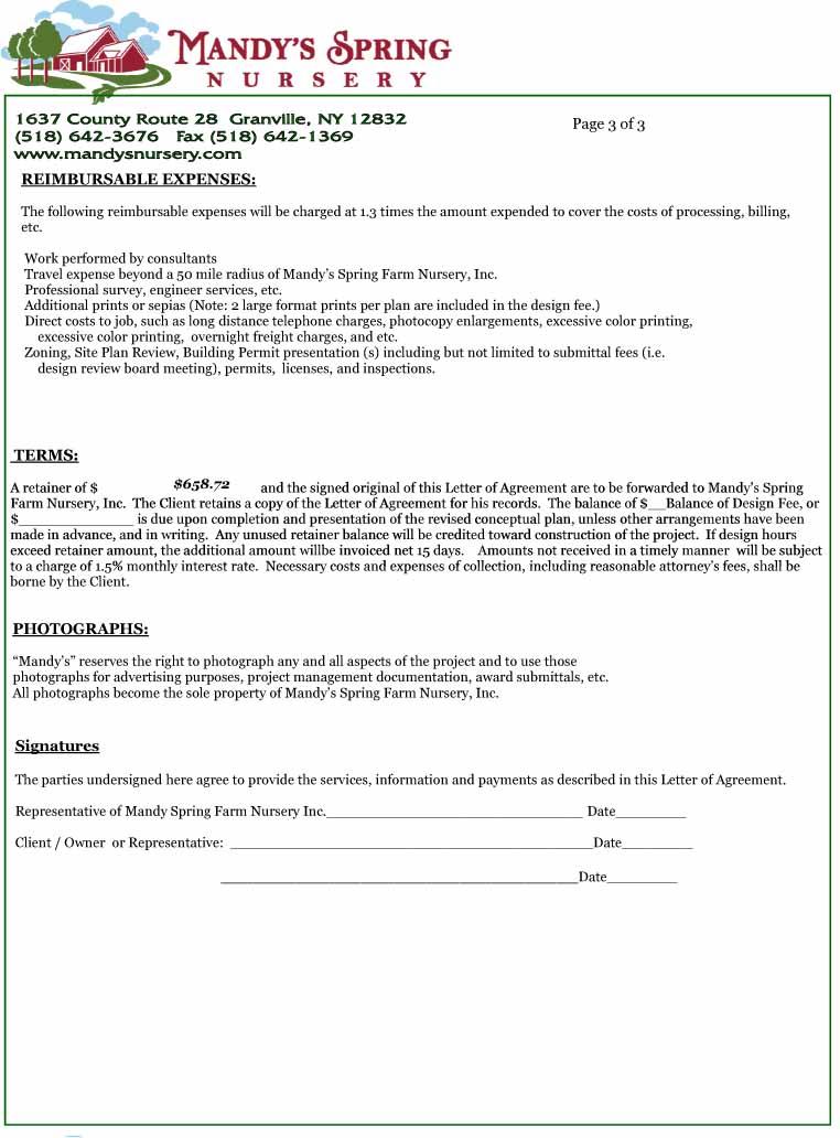 Letter-of-Agreement-Design - letter of agreement