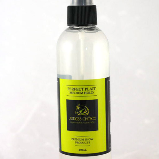 Perfect Plait Medium Horse Plaiting Spray, 250ml