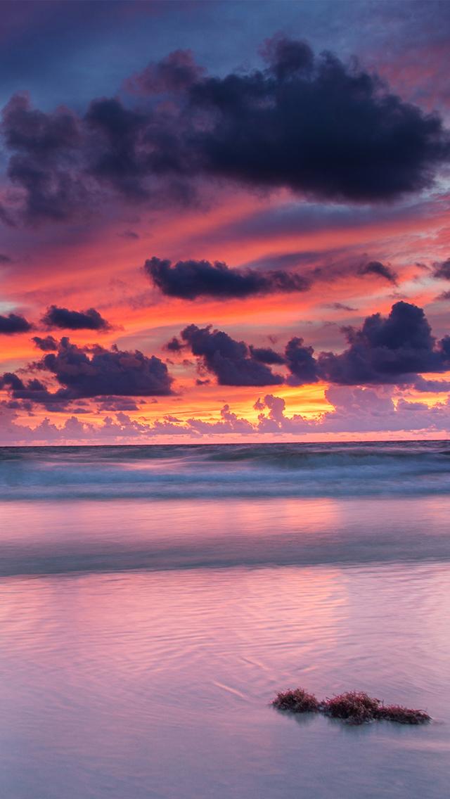 Ocean Wallpaper For Iphone Florida Sunset By Matt Aceino Dsktps