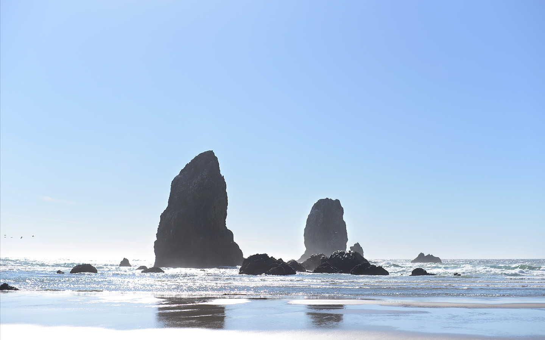 Iphone Wallpaper Resolution Oregon Coast Rock Formations By Traveling Julie Dsktps