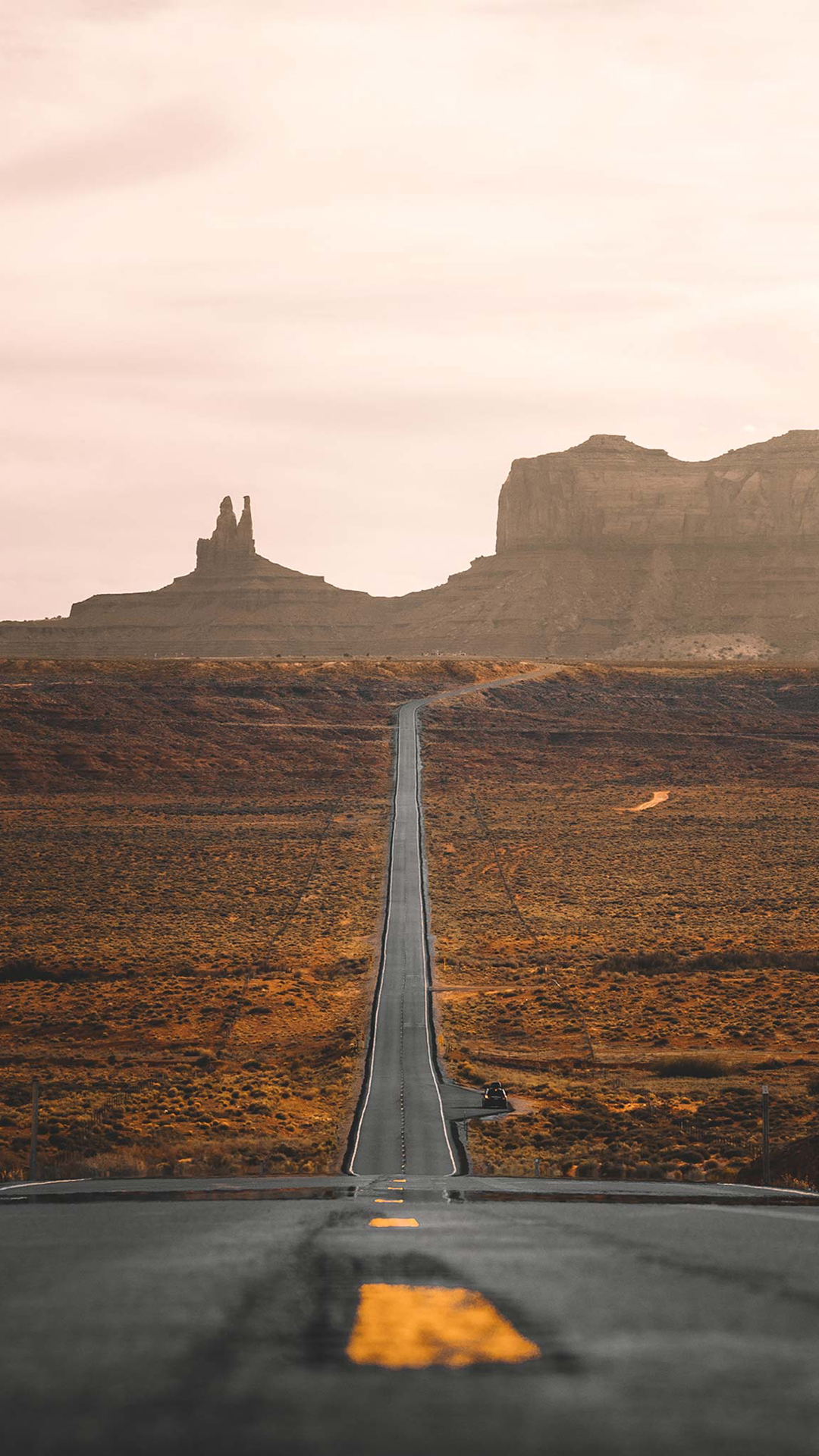 2017 Wallpaper Iphone Road To Monument Valley By Andy Feliciotti Dsktps