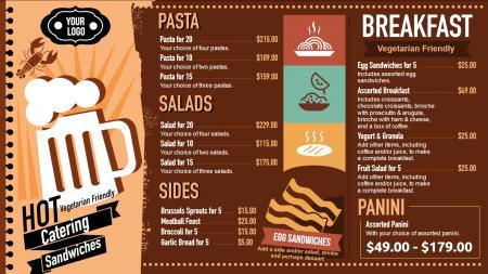 Fast Food Signage Menuboard Design From Dsmenu