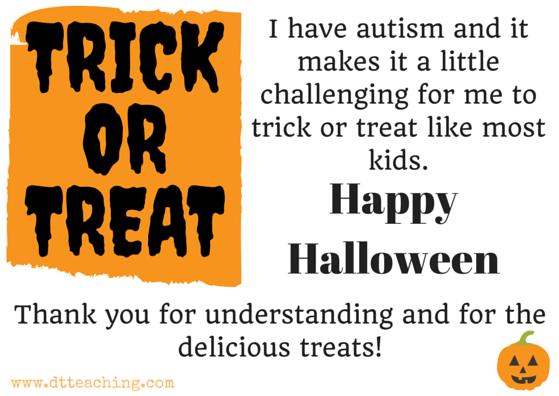 Happy halloween Trick or Treat postcards