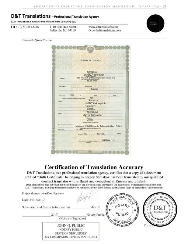 Birth certificate sample translation gallery certificate design sample birth certificate cvresumeunicloud yelopaper Choice Image