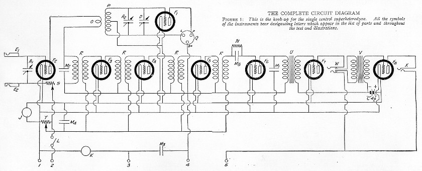 radio schematics for 1925