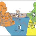 Nol Card Zone Map - Dubai