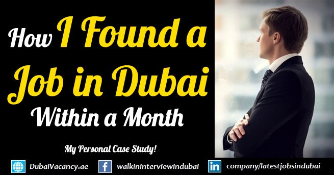 How I Found a Job in Dubai Within a Month? My Personal Case Study