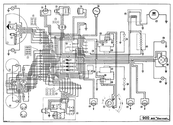 ducati 900ss wiring diagram workshop manual