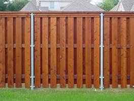 Cedar Fence Styles Duck Fence Deck