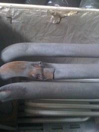Cracked Heat Exchangers