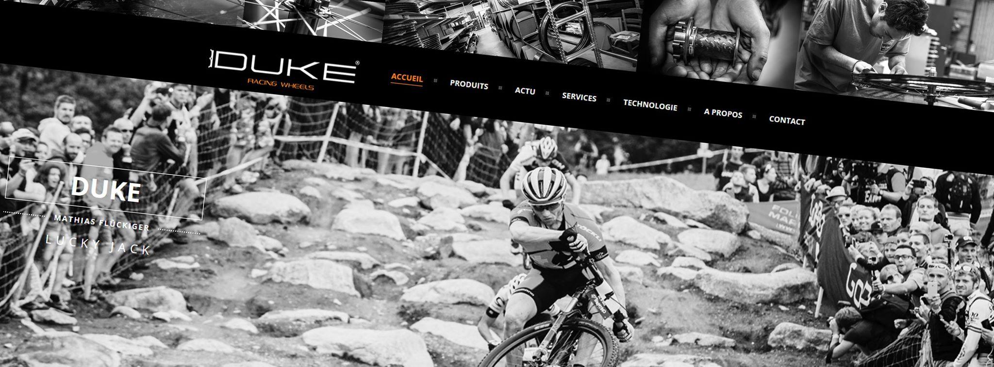 Nouveau site web DUKE !