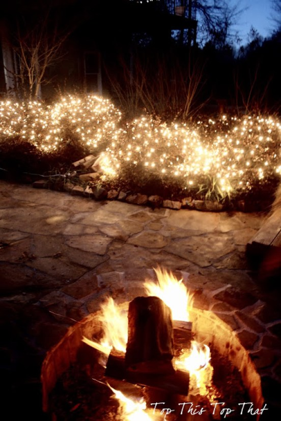 Outdoor holiday lighting ideas duke manor farm for Manor house landscape lighting