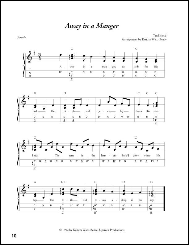 We Wish You A Merry Christmas Guitar Chords In D - LTT