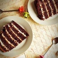 Tort cu crema mascarpone si caramel
