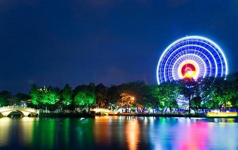 Công viên văn hóa Đầm Sen – 1 trong 5 điểm tầm thấp