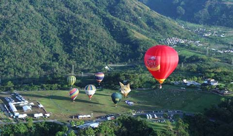 Lễ hội Khinh khí cầu Mộc Châu diễn ra từ ngày 1 đến 3/9.