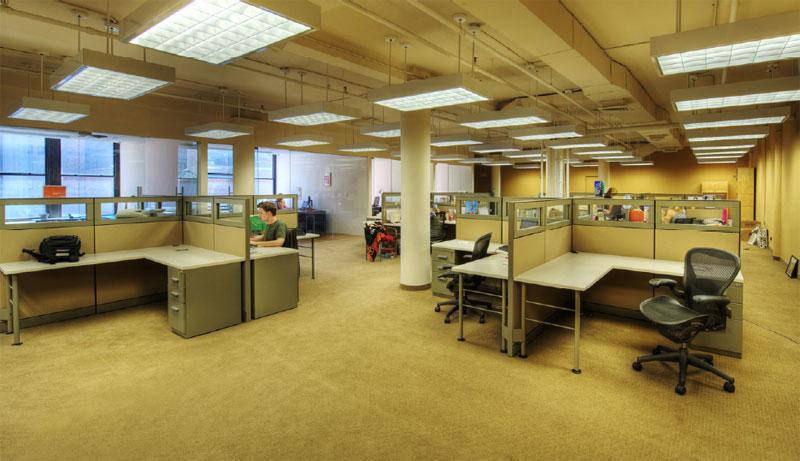 Egon Zehnder office Knoll workstations Lucile Glessner Design