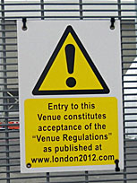 Entry to this venue constitutes acceptance of the Venue Regulations
