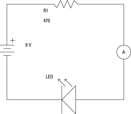 How to Measure Current on an Electronic Circuit - dummies