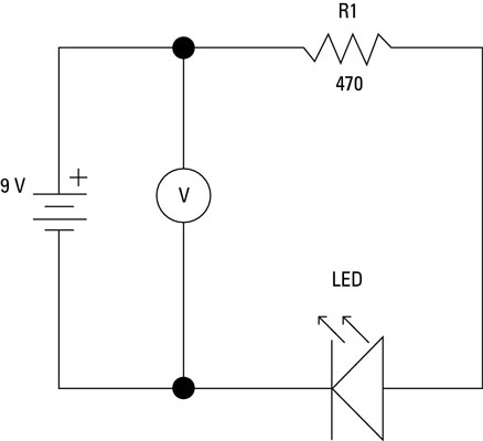 How to Measure Voltage on an Electronic Circuit - dummies