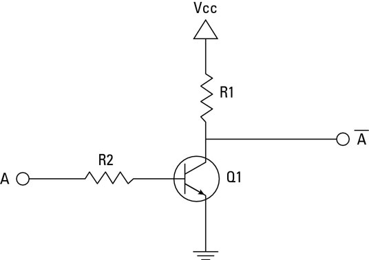 Electronics Projects How to Create a Transistor NOT Gate Circuit