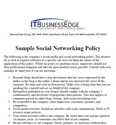 How to Create a Social Media Marketing Policy - dummies