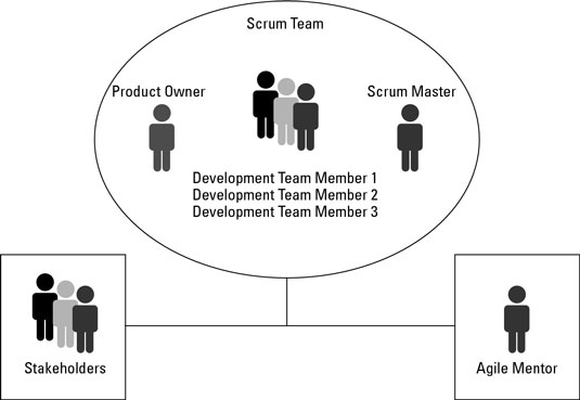 Team Roles within an Agile Management Framework - dummies