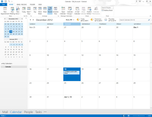 How to Create Multiple Calendars in Outlook 2013 - create a picture calender