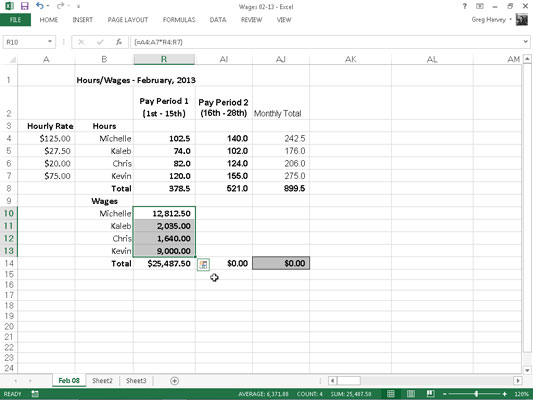 How to Build Array Formulas in Excel 2013 - dummies