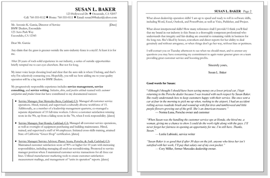 3 Types of Resume Letter Samples - dummies - 3 types of resumes