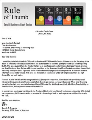 How to Write a Grant Application Cover Letter - dummies - grant cover letter