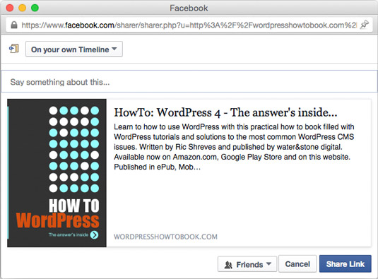 How to Optimize Social Media with Facebook\u0027s Open Graph Protocol - sample facebook timeline