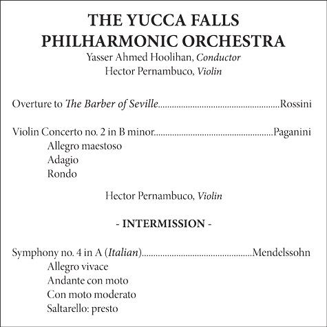 Understanding the Classical Music Concert Program - dummies