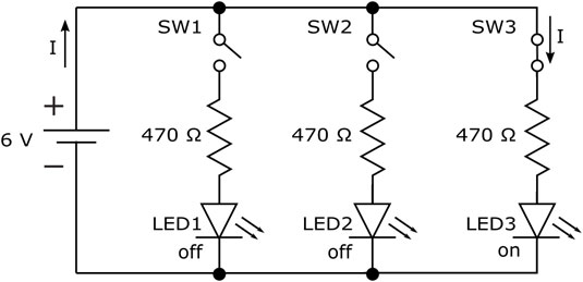 here is one with a series parallel switch