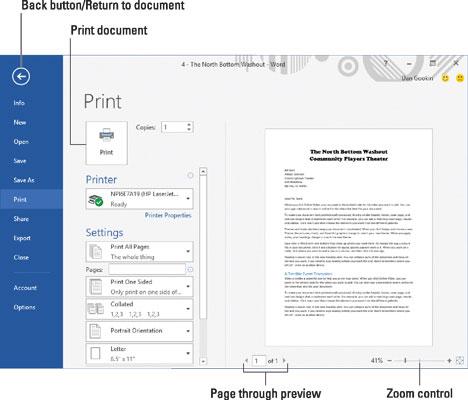 print preview on word - Klisethegreaterchurch - on word