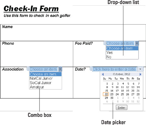 How to Create a Form in Word 2016 - dummies