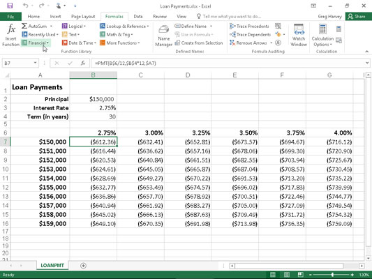 How to Use the PMT Function in Excel 2016 - dummies