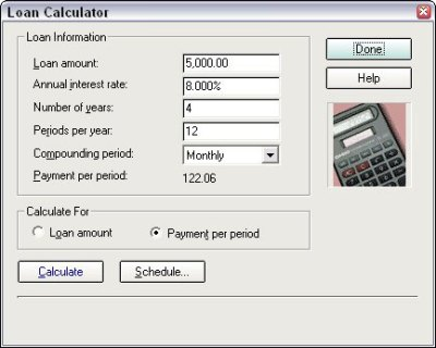 How to Use Quicken's Loan Calculator - dummies