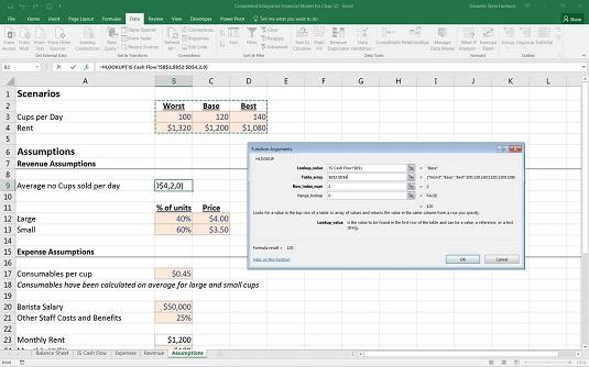 Building Scenarios in Your Financial Model
